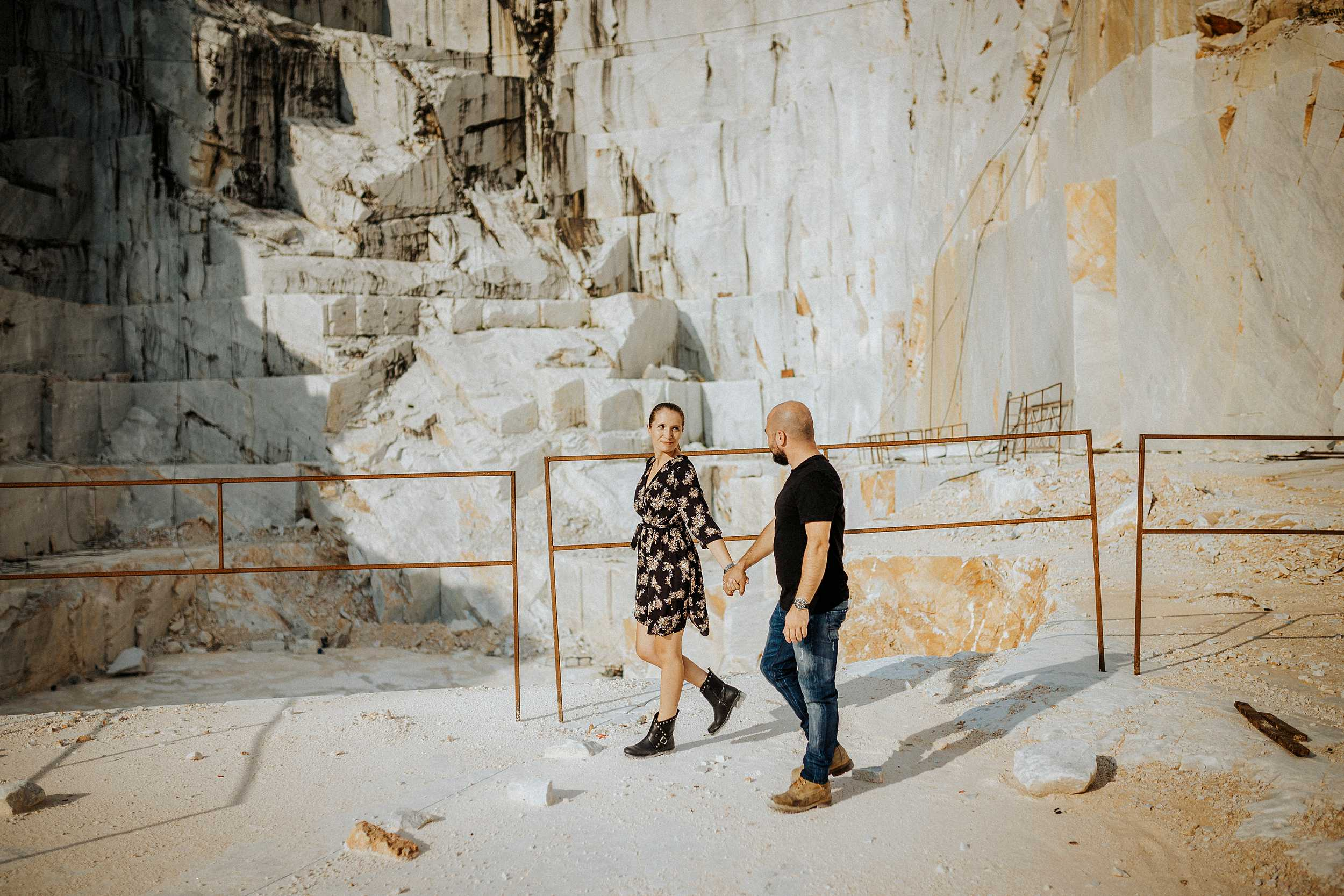 engagement session marble quarries