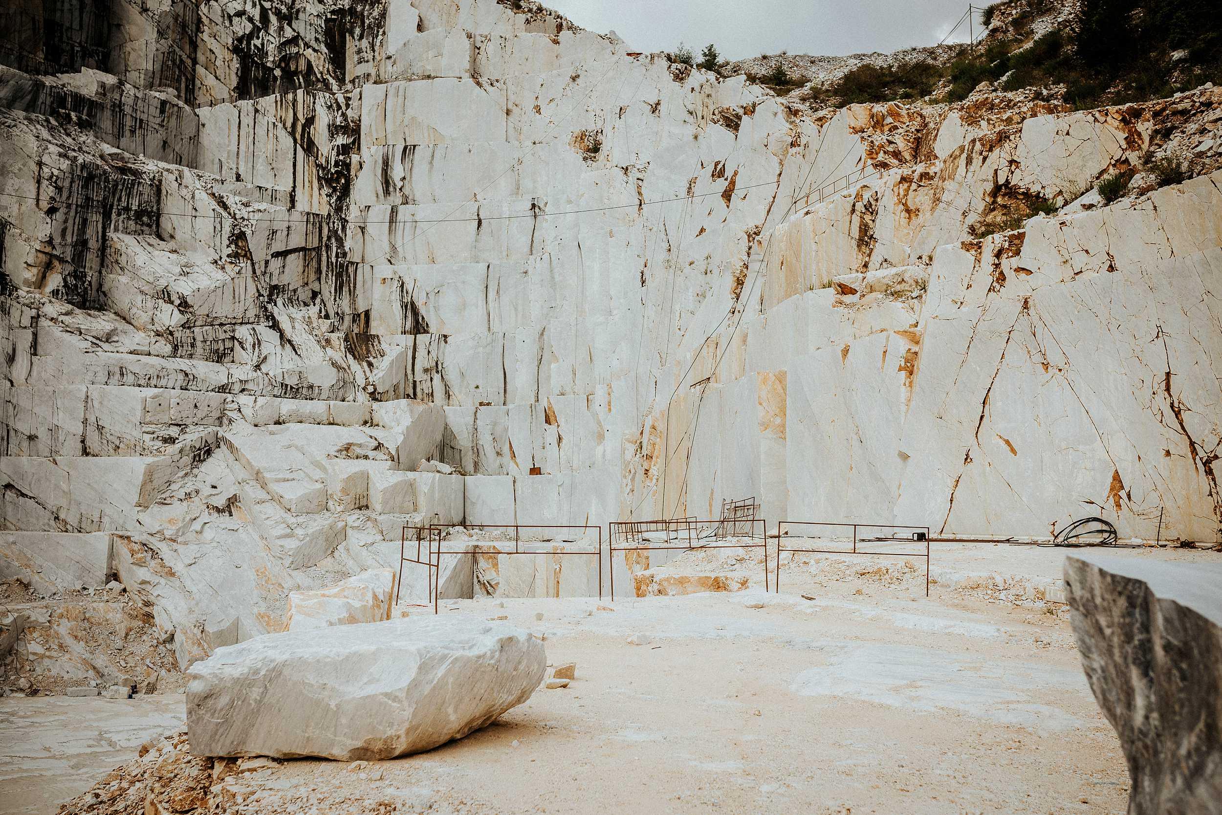 servizio fidanzati alle cave di marmo di carrara