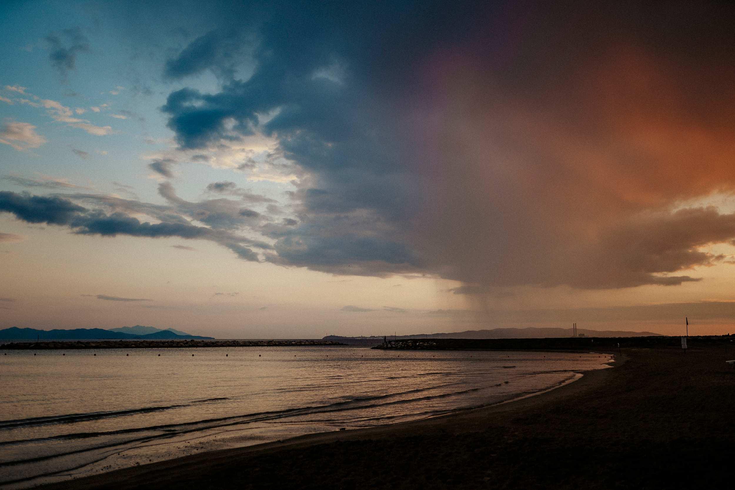 paesaggio matrimonio in spiaggia