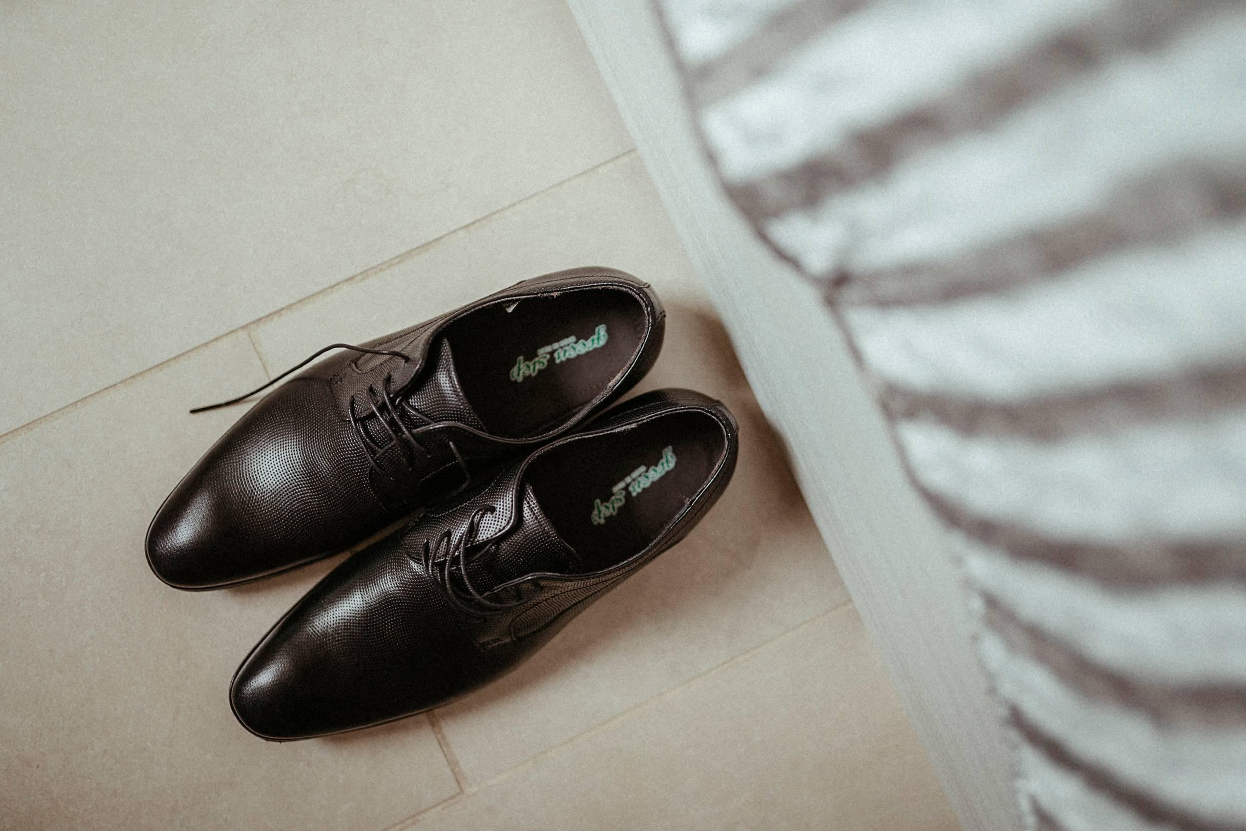 scarpe sposo matrimonio