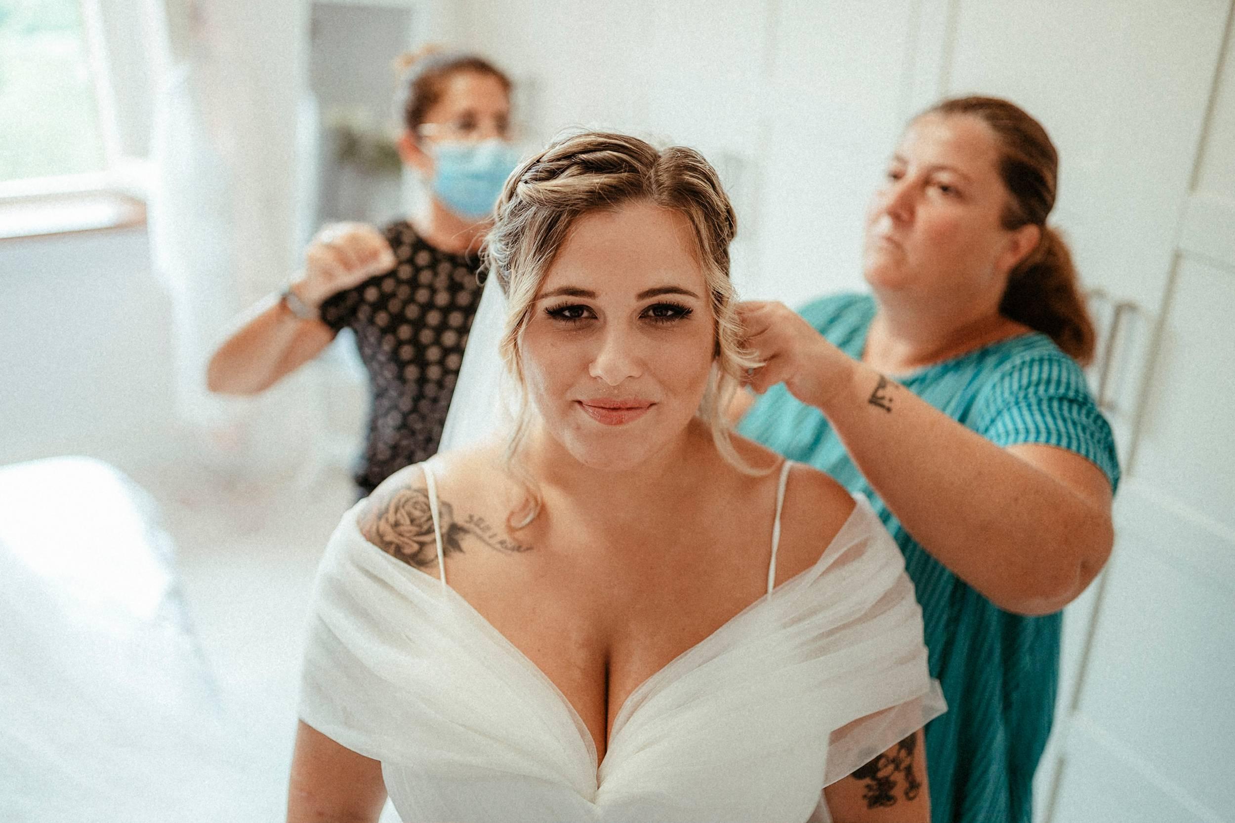 getting ready sposa